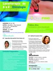 #ESGOTADO#Curso de Laserterapia de A a Z Oncologia - Teórico de fotobiomodulação Turma 4