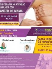 Curso de fisioterapia no Cancer de mama - atualização baseada em evidências - Teórico Prático - Turm