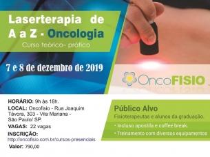 Curso de Laserterapia de A a Z Oncologia - Teórico Prático de fotobiomodulação Turma 7