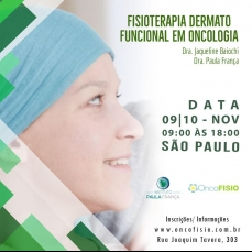 Fisioterapia dermatofuncional em Oncologia Turma 2