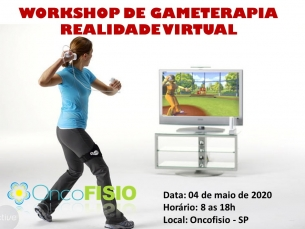 Workshop de gameterapia e uso da realidade virtual na fisioterapia T1