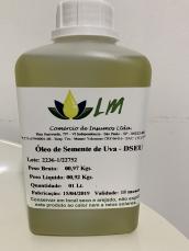 Óleo para massagem de semente de uva - 1 litro