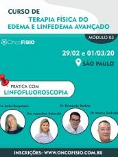 Terapia física do edema e linfedema avançado - módulo 3 - TURMA 1