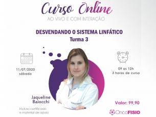 CURSO ONLINE AO VIVO: DESVENDANDO O SISTEMA LINFÁTICO TURMA 3