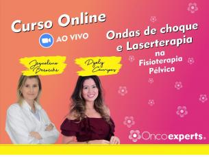 Curso Online ao vivo: Ondas de choque e Laserterapia na Fisioterapia Pélvica