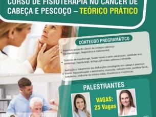 Curso de fisioterapia no câncer de cabeça e pescoço - Teórico e prático