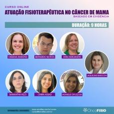 Fisioterapia no câncer de mama - Curso Online