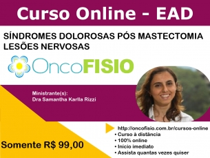 Síndromes dolorosas pós mastectomia - lesões nervosas